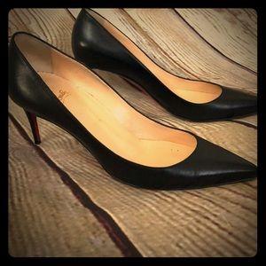 Christian Louboutin size 39 black heels